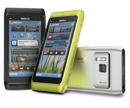 New Nokia N8 Phone With HD Video and 12MP Camera