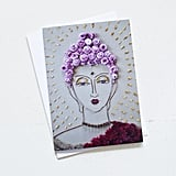 """Buddha"" Greeting Card ($4)"