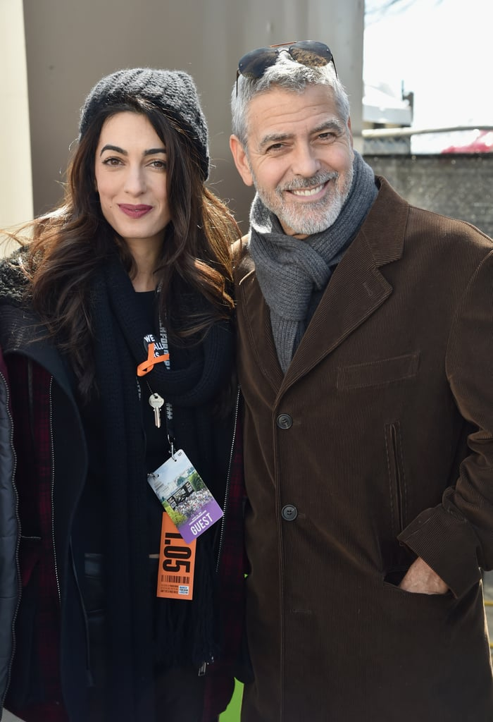"George and Amal Clooney were among the thousands of people who gathered for the March For Our Lives rally in Washington D.C. on March 24. The couple showed their support for the movement in late February when they donated $500,000 to the cause. At the time, George told E! News about their plans to attend the event in a statement. ""Our family will be there on March 24 to stand side by side with this incredible generation of young people from all over the country, and in the name of our children Ella and Alexander, we're donating $500,000 to help pay for this groundbreaking event,"" he said. ""Our children's lives depend on it."" The actor echoed his support in a letter he wrote to the Parkland students, which appeared in The Guardian on Friday. ""Amal and I are 100% behind you and will be marching in DC on the 24th, but we both feel very strongly that this is your march. Your moment,"" he wrote. ""Young people are taking it to the adults and that has been your most effective tool. The fact that no adults will speak on the stage in DC is a powerful message to the world that if we can't do something about gun violence then you will."" Keep reading to see pictures of George and Amal Clooney at the demonstration, then check out the most powerful signs at March For Our Lives rallies across the country."