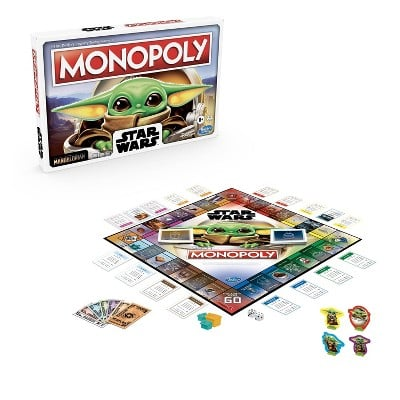 Hasbro's The Child Monopoly Game