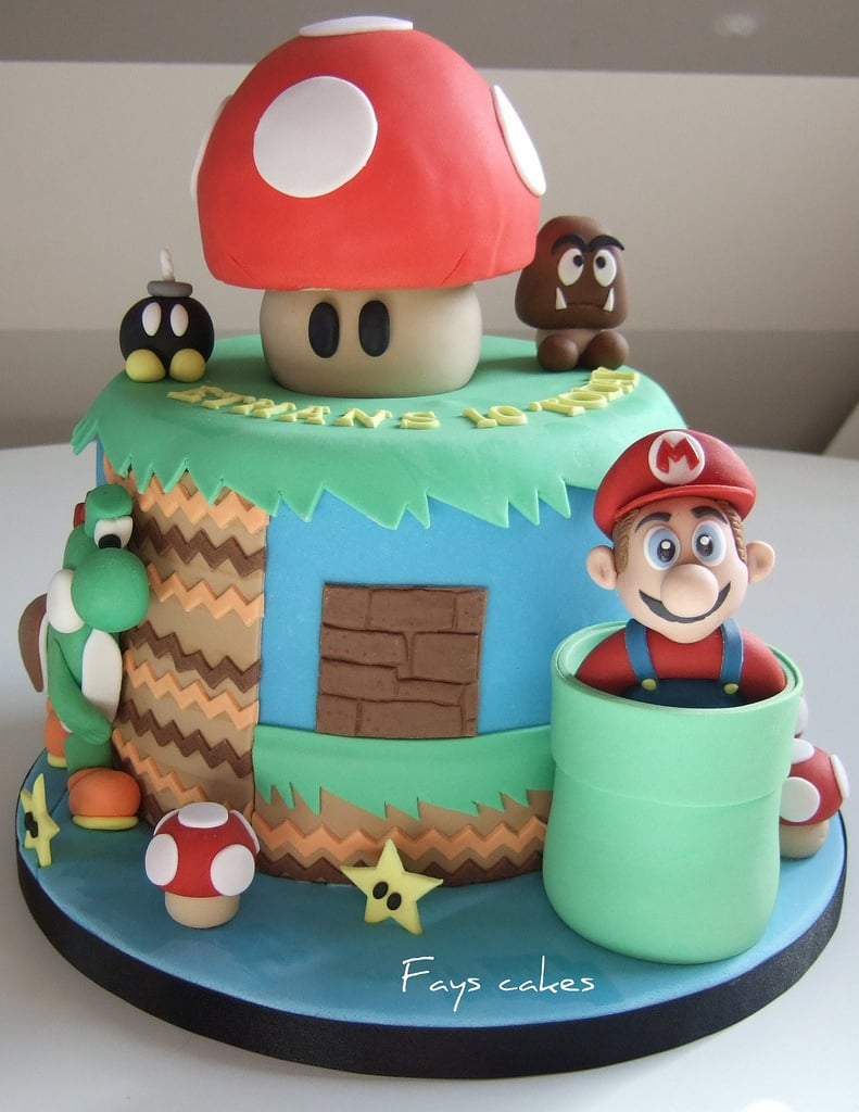 Super Mario Fun Birthday Cakes For Boys POPSUGAR Moms Photo 35