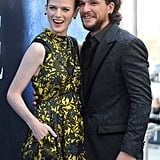 Rose and Kit were all smiles at the season seven LA premiere of Game of Thrones in July 2017.