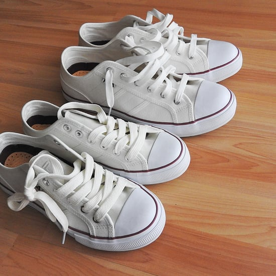 How to Keep Kids' White Shoes White