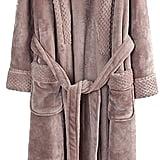 Richie House Plush Soft Warm Fleece Bathrobe