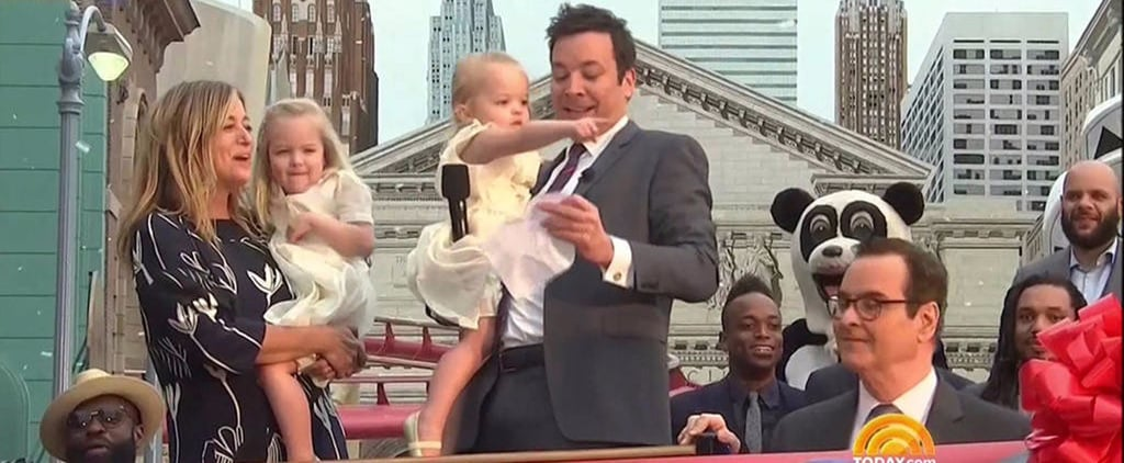 Jimmy Fallon's Daughters Steal the Show at the Opening of His Universal Studios Ride