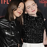 Millie Bobby Brown and Sadie Sink