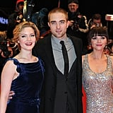 Holliday, Rob and Christina all looked fabulous at the Bel Ami premier.