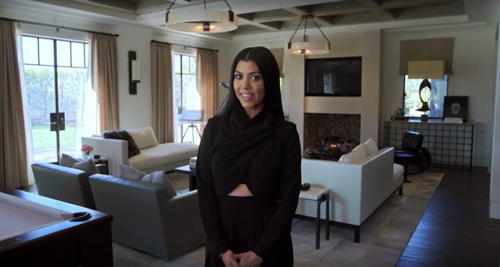 Pictures of Kourtney Kardashian's House