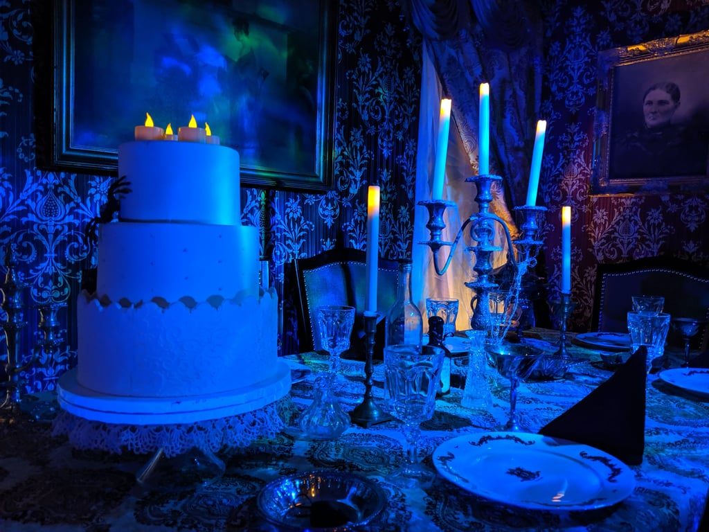 The Haunted Mansion-Inspired Halloween Dining Room