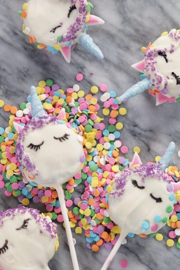 Unicorn Oreo Pops