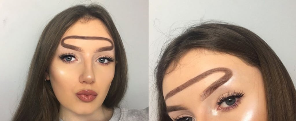 Why Am I So Obsessed With Halo Brows, This New Reverse Unibrow Trend?