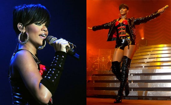 Rihanna Performing in Dublin, Ireland on February 27, 2008