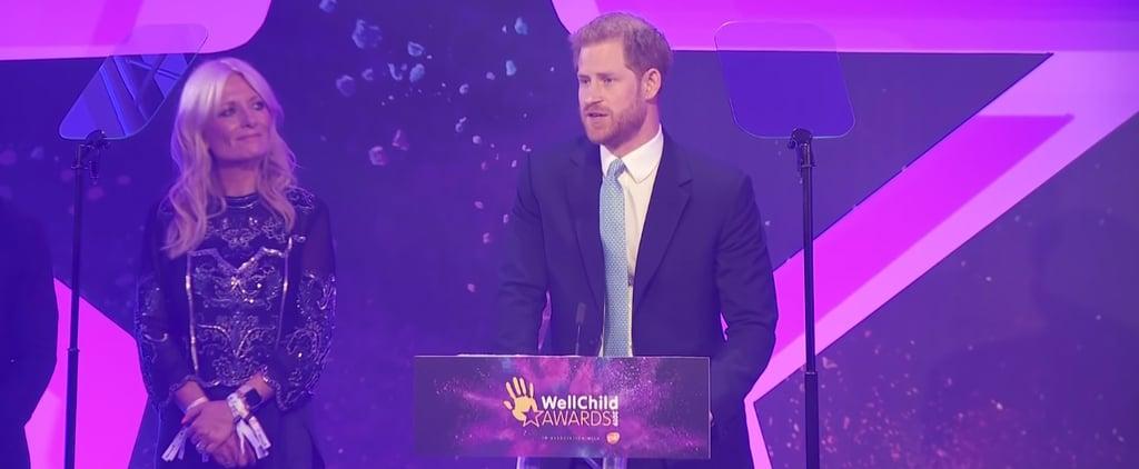 Prince Harry's Speech at the 2019 WellChild Awards Video