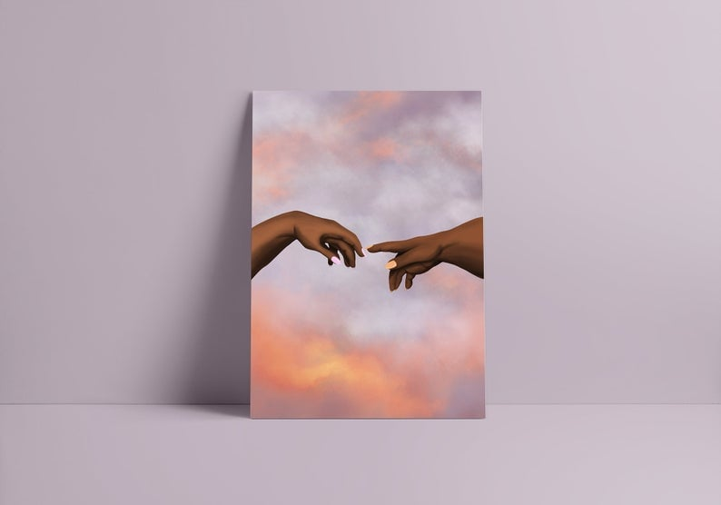 God Is a Woman Art Print