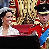 April 29, 2011: Prince William and Kate Middleton