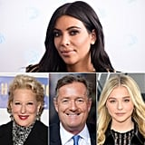 Kim Kardashian vs. Bette Midler, Piers Morgan, and Chloë Grace Moretz