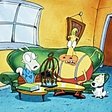 Rocko, Heffer, and Spunky From Rocko's Modern Life