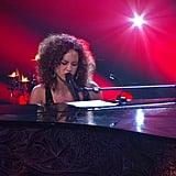 "Alicia Keys Sings ""Fallin'"" For AOL Sessions in 2011"
