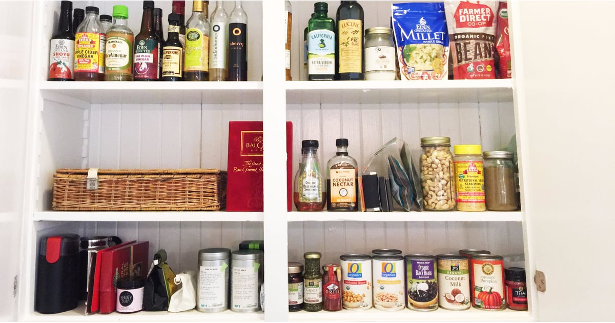 How To Quickly Organize A Small Pantry Popsugar Food