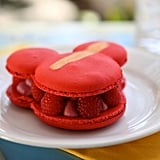 Raspberry Rose Macaron