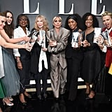 Sarah Paulson Lady Gaga at Elle Women in Hollywood Photos