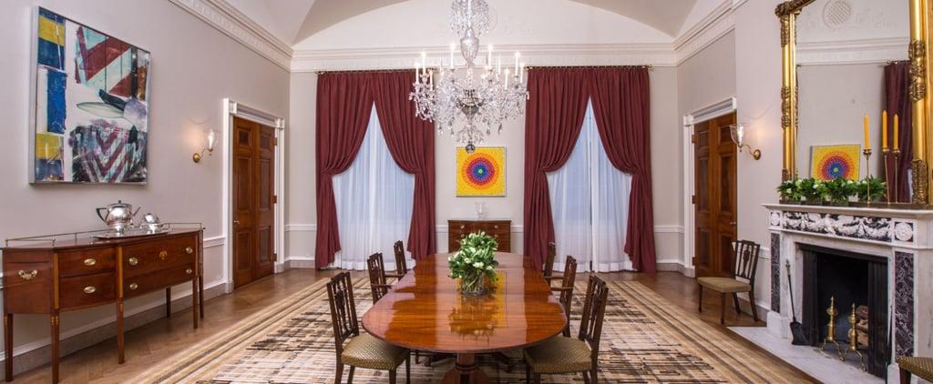 The White House Family Dining Room Makeover
