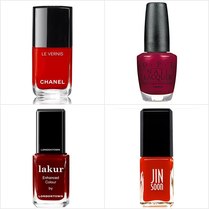 Best Red Nail Polishes 2016