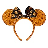 Official Disney Minnie Mouse Halloween Ears Sequined Headband ($25)