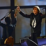 "Paul McCartney sang ""Hey Jude"" at the close of the Olympic opening ceremony."