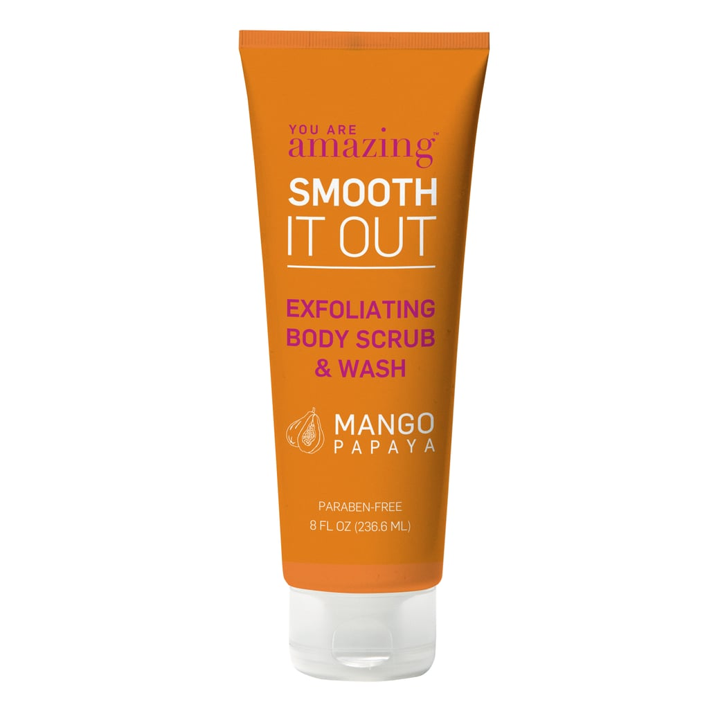 You Are Amazing Smooth It Out Exfoliating Body Scrub and Wash in Mango Papaya