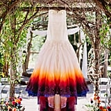 Showstopping Ombré Details Make This the Ultimate DIY Wedding