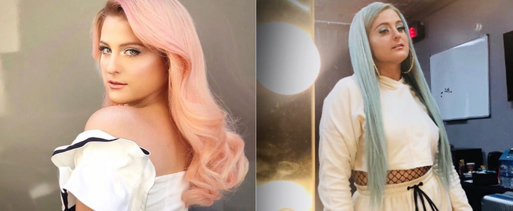 Meghan Trainor's Hair Evolution