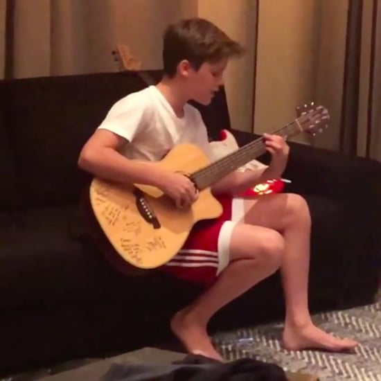 Victoria Beckham Shares Video of Cruz Singing Justin Bieber