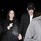 John Krasinski and Emily Blunt enjoyed their double date with Len Wiseman and Kate Beckinsale.