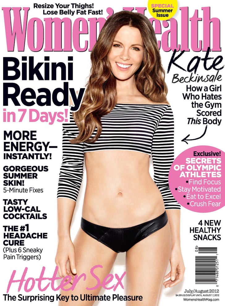 Kate Beckinsale Women's Health Pictures