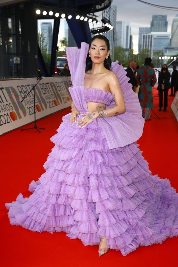 Rina Sawayama at the BRIT Awards 2021