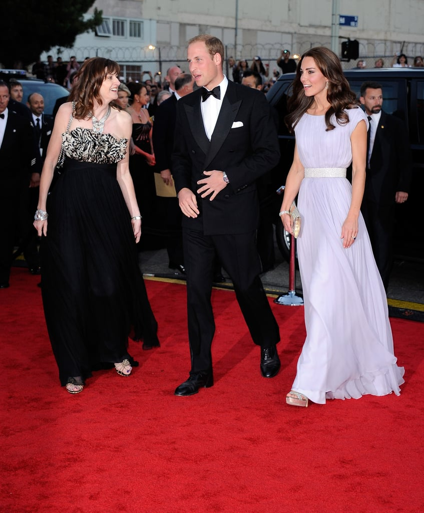 Kate Middleton And Prince William At BAFTA Gala In LA 2011