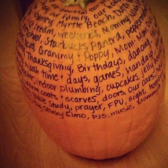 What Is a Thankful Pumpkin?