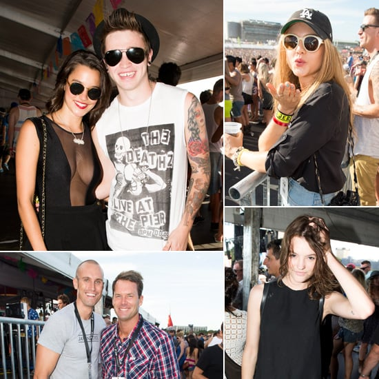Stars Attend Sydney's Future Music Festival in First Class Style