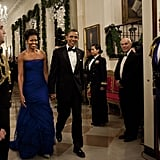 Wearing Vera Wang at the Kennedy Centre Honorees reception in 2011.