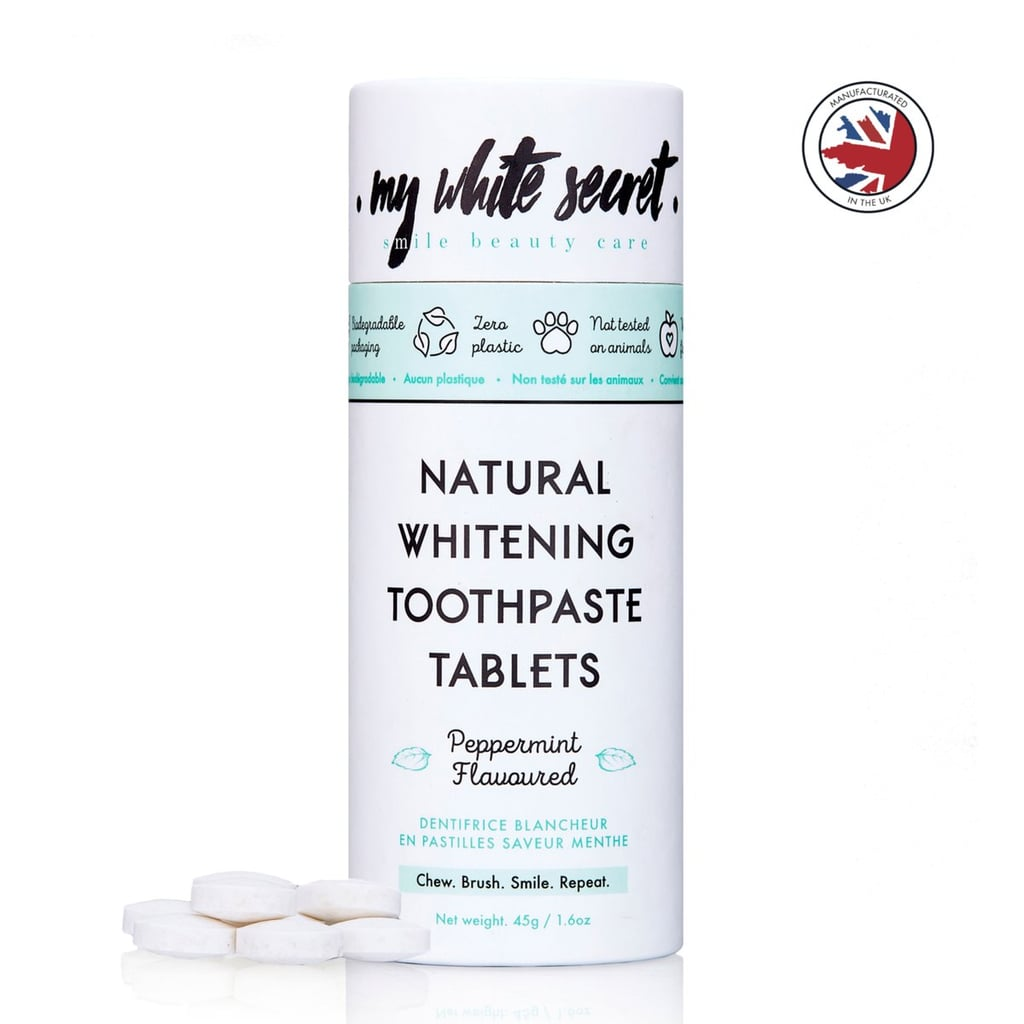 My White Secret Natural Whitening Toothpaste Tablets