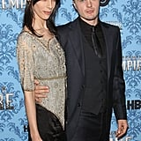 Michael Pitt and girlfriend Jamie Bochert.