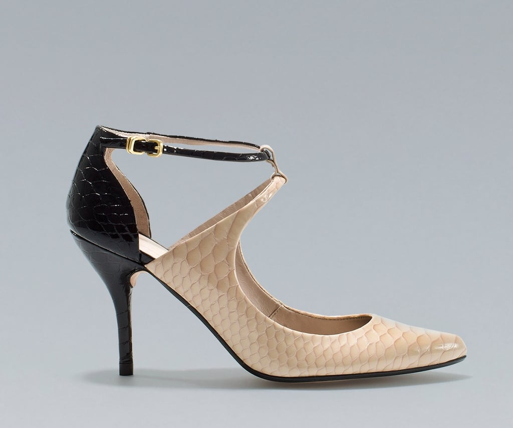 Zara Mid Heel Pointed Shoe ($80, originally $129)