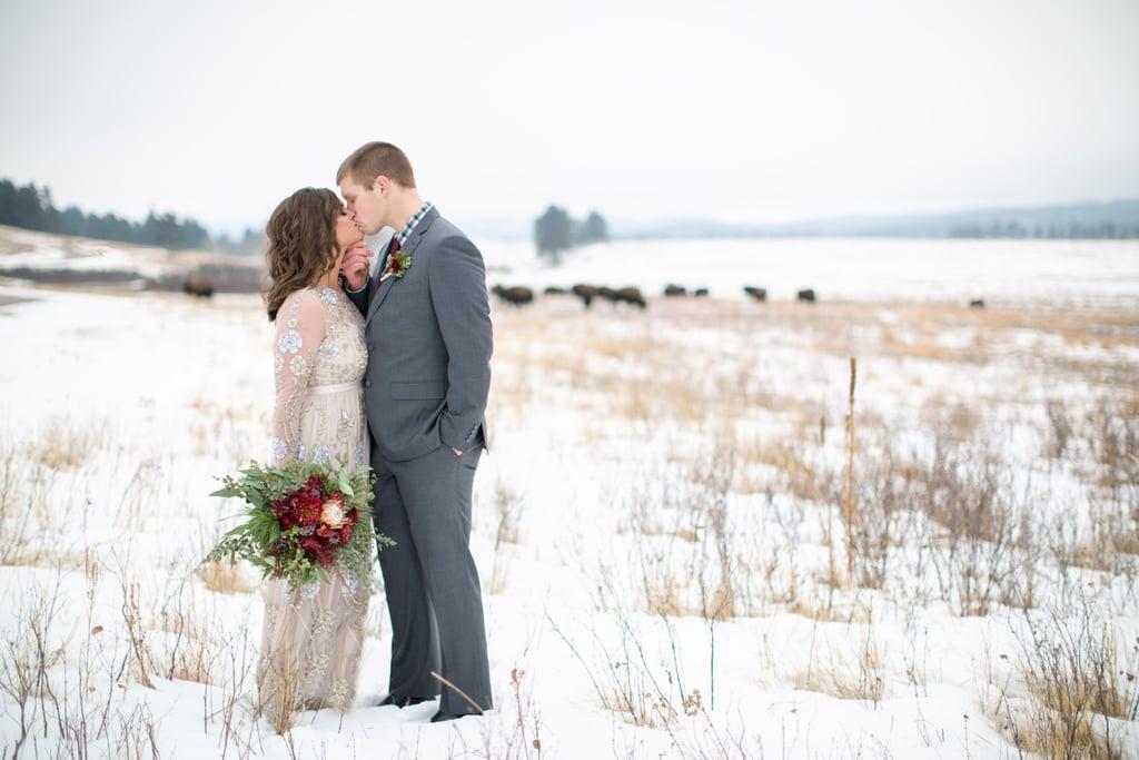 New Year's Day Winter Wedding