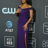 Regina King at Critics' Choice Awards