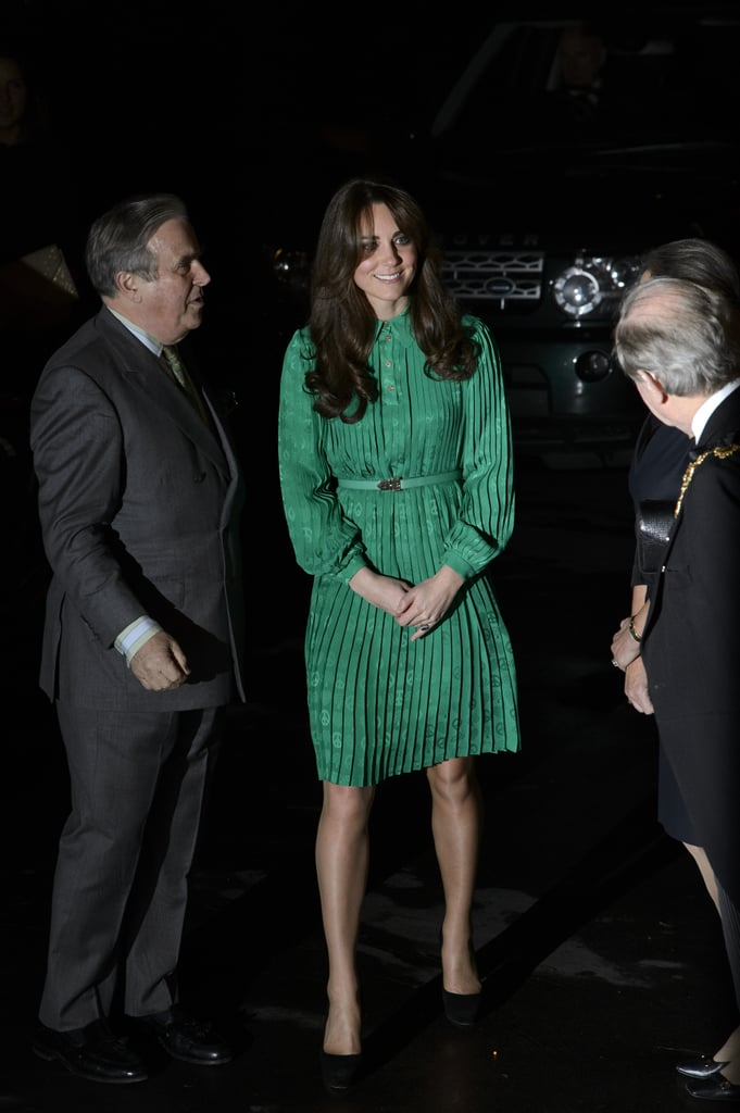 Kate Middleton was out in London.