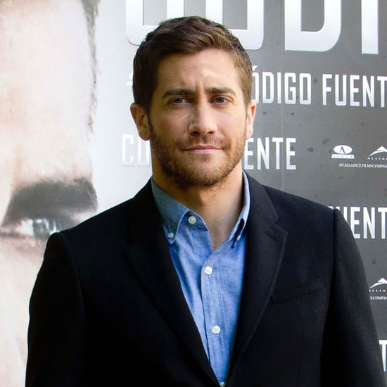Pictures of Jake Gyllenhaal at a Source Code Photocall in Madrid