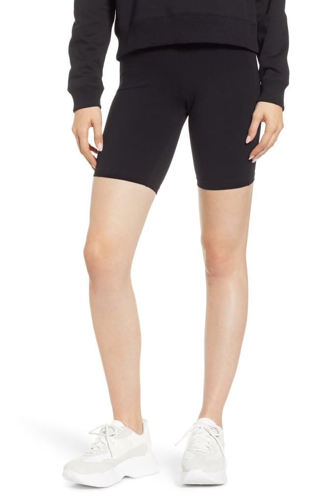 8727642e0e Hue High Waist Cotton Blend Bike Shorts   Best Shorts to Wear Under ...