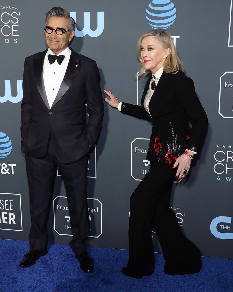 Schitt's Creek Cast at the 2019 Critics' Choice Awards