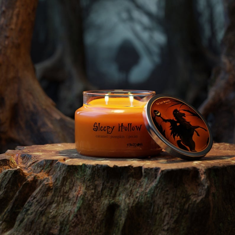 Legend of Sleepy Hollow Disney Candle